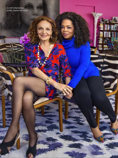 Diane and Oprah