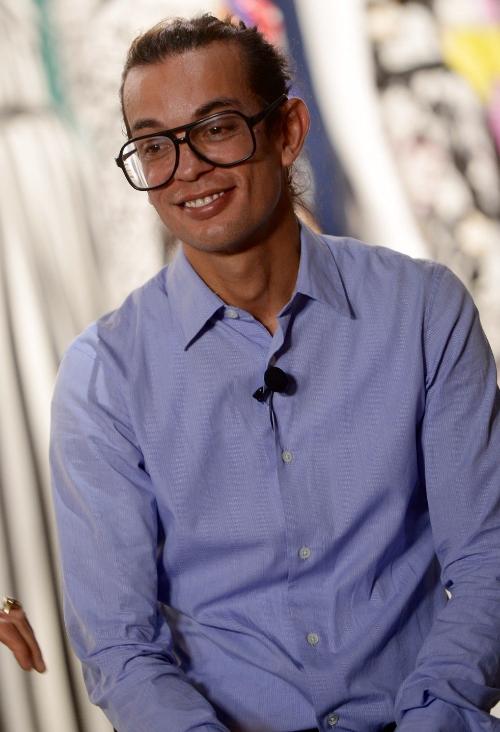Michael Hertz, Artistic Director at DvF (photo - Getty)