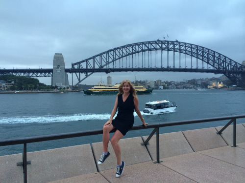 Sunset walk in Sydney harbour (photo - worklondonstyle)