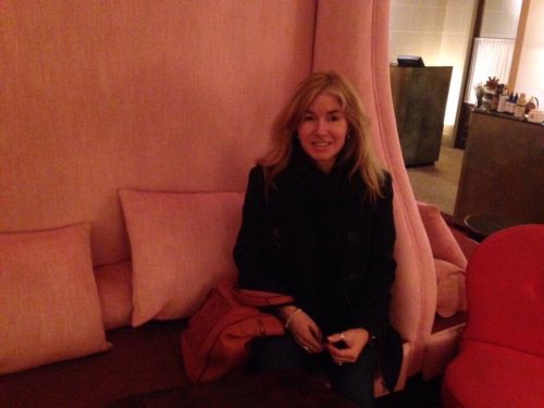 Hosting an Intensive with a client at Hotel Carlton Lyon, France (photo - worklondonstyle)