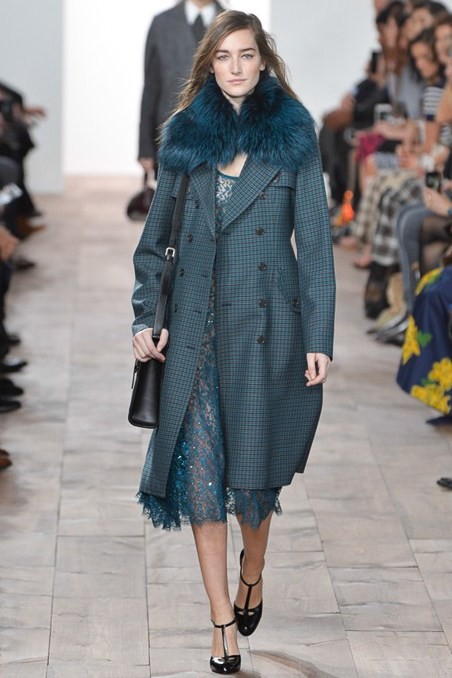 Can I have this coat? Look at the fricken blue fur. I would sleep in this coat.