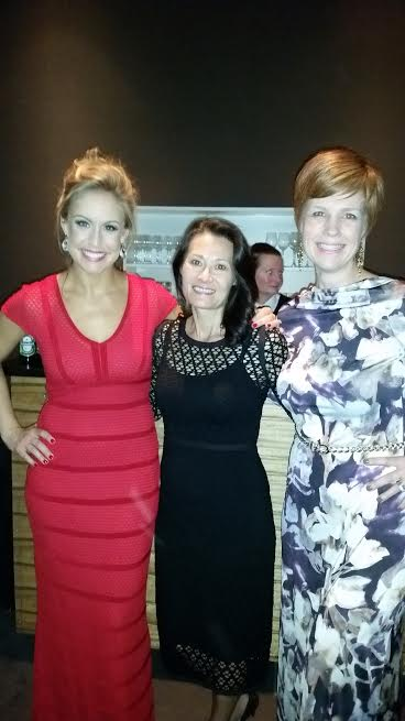 Surrounded by 2 beautiful ladies wearing one-of-a-kind KOKOON dresses!