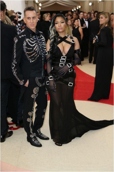 Jeremy Scott and Nicki Menaj