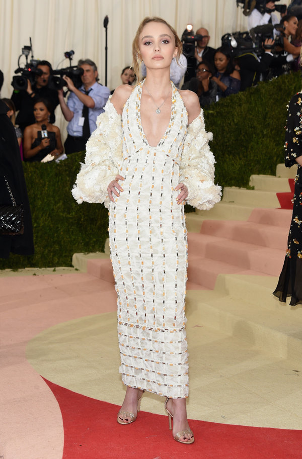 Lily Rose Depp in Chanel