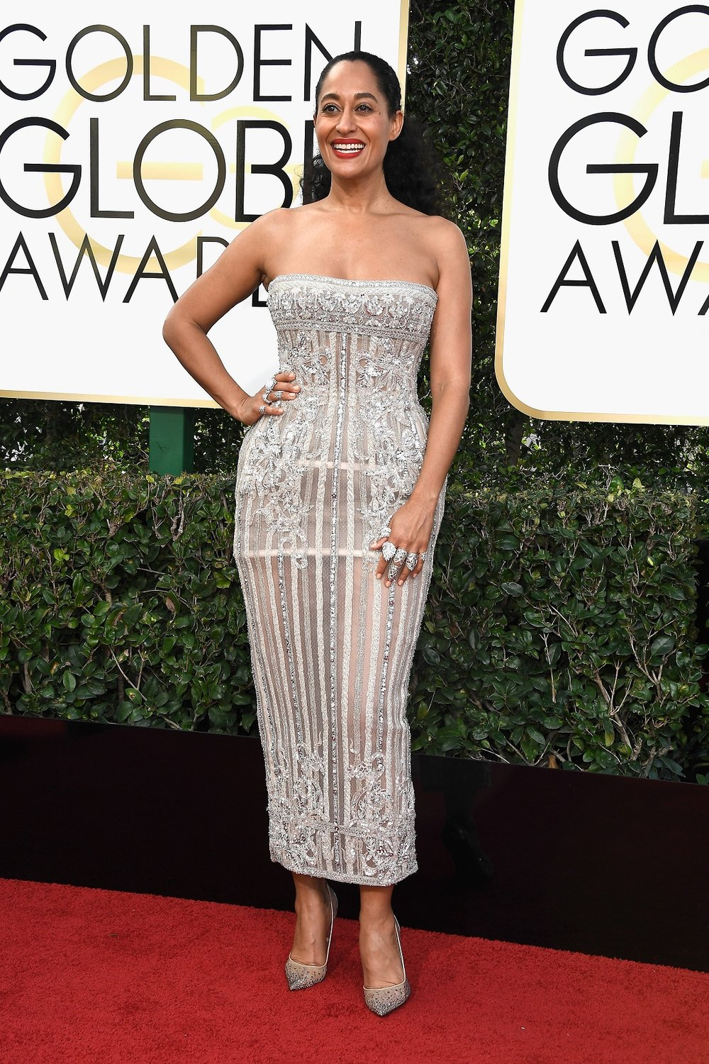 Tracee Ellis Ross in a Zuhair Murad Couture dress