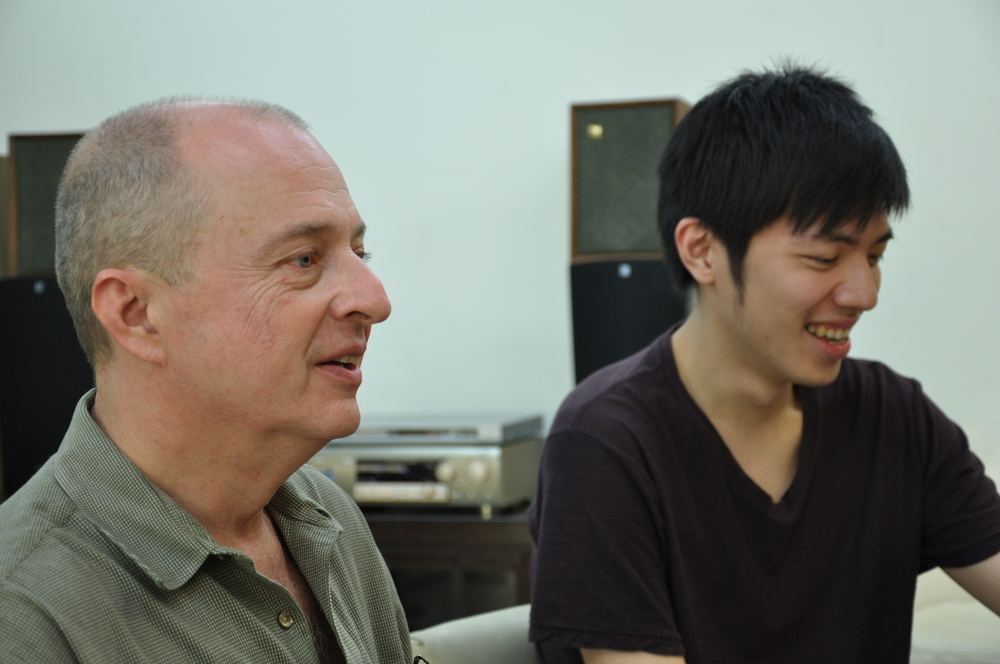With Owen Wang at the seminar.JPG