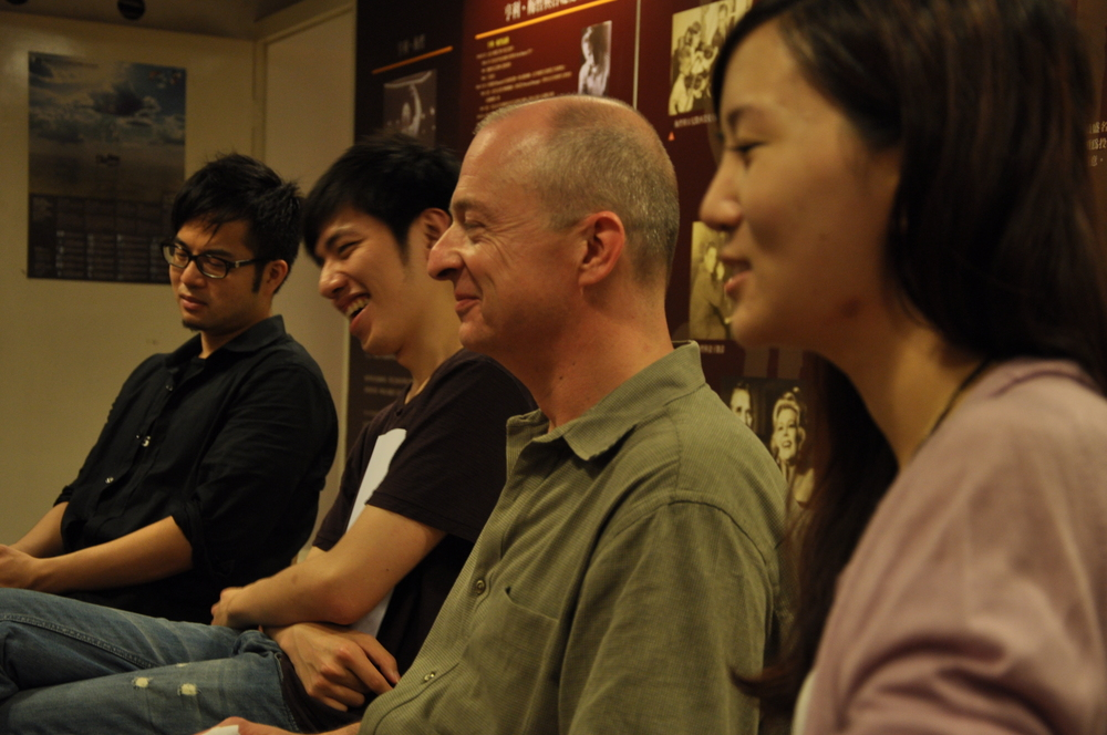 With Owen Wang, Daphne Su, and Paochang Tsai at the seminar.JPG