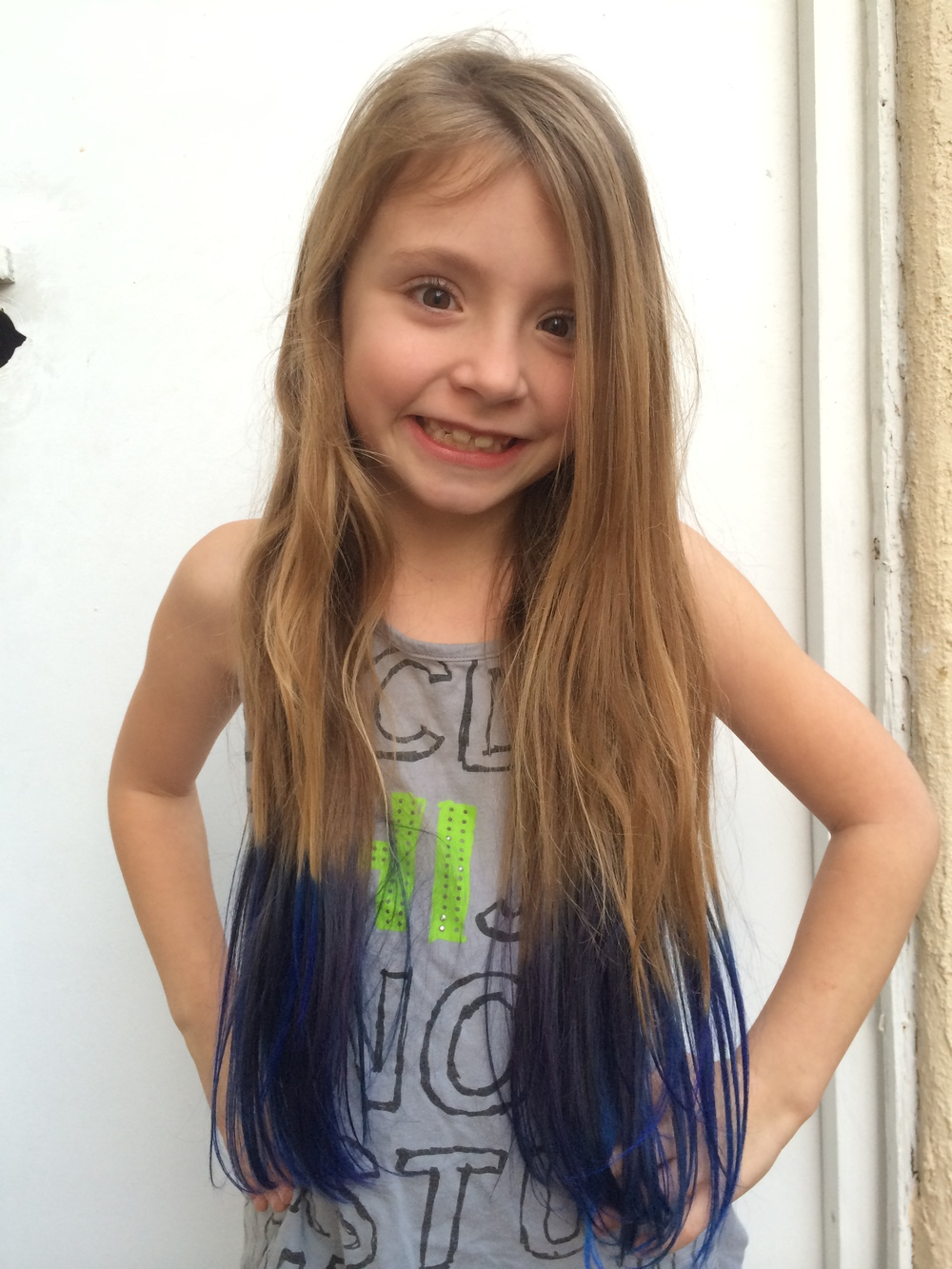 Dip Dye Tutorial - How To Dye Your Child\'s Hair — Such A Dahl