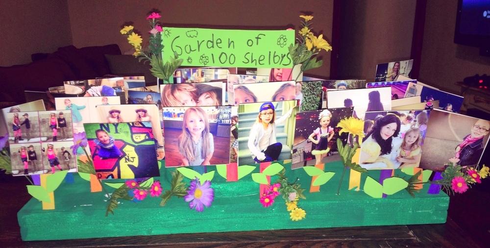 100 Days Of School Project   Flower Garden