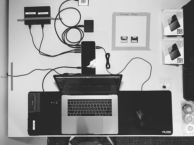 Everything in its right place. . . . . #dit #digitech #datawrangler #alexamini #c500 #davinciresolve #vsco #vscocam