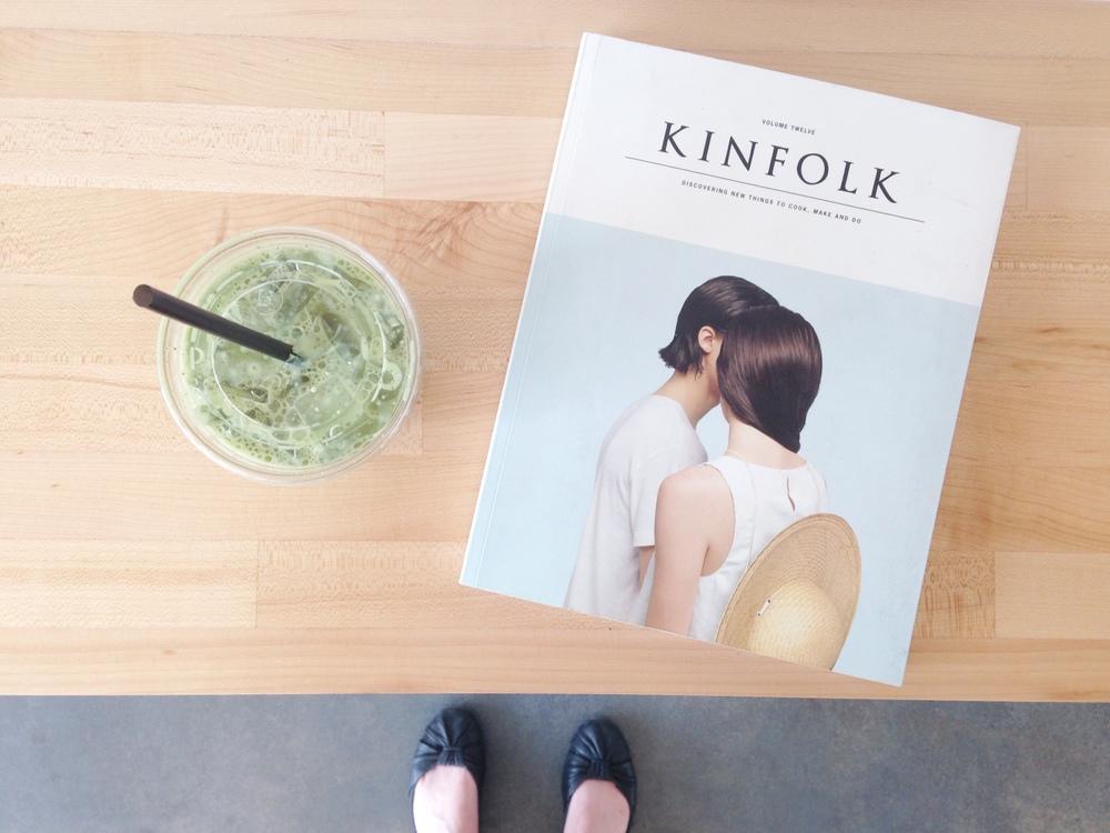 matcha shake + kinfolk break / Tea Bar