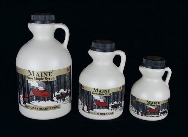 Purchase 100% pure Maine maple syrup in poly jugs here.