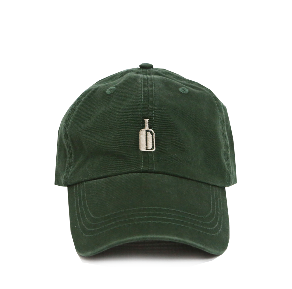DIXIE RESERVE 90 PROOF HAT HUNTER GREEN