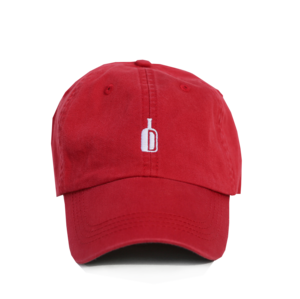 DIXIE RESERVE SOUTHERN BRAND 90 PROOF HAT RED