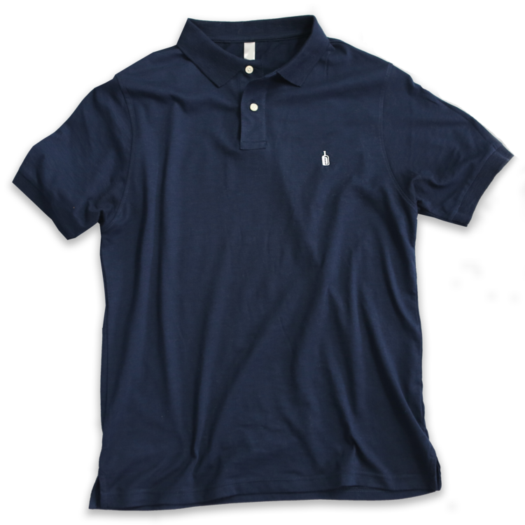 DIXIE RESERVE 90 PROOF NAVY POLO SOUTHERN