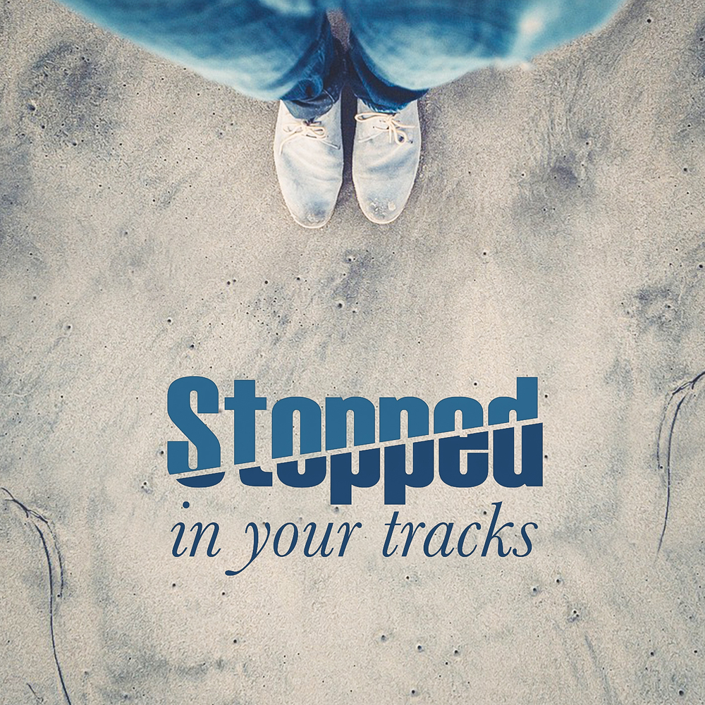 Image result for Stopped in your tracks
