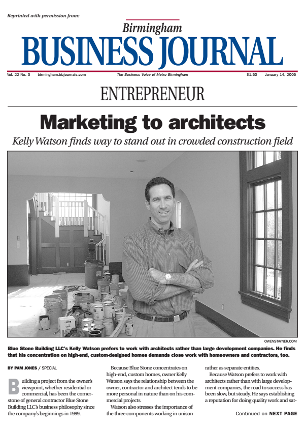 Birmingham Business Journal 2004