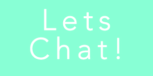 We would love to talk! Lets get to know each other better!