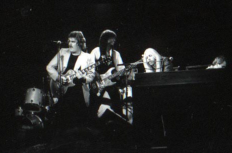 1985 All-star jam The Golden Bear Various shots of Joe Lawing, Dan Toler, Gregg Allman, myself , Mike Finnigan and Calvin Hardy