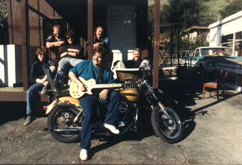 Band #4 – 1986-1988 (kick ass band) Mike Reilly, Danny Ott, Jon Hurley, Vernon Porter, Mark T. Williams and Mike Finnigan.