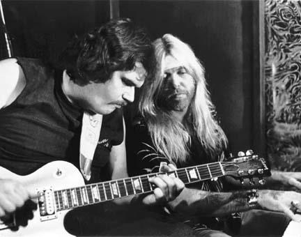 Mike Reilly & Gregg Allman 1985