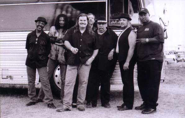 Band #9 – 2001-02 - David W. Jones, Calvin Hardy, me, Mike Kahrs, Steve Madaio, Tom Saviano and Cleve Anderson, Jr.