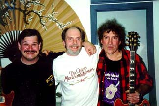 "Band #8 – 1997-2000 1997 The ""Who's been sleeping in my bed"" recording sessions - Mike Reily, Elvin Bishop, Alan Blazek"