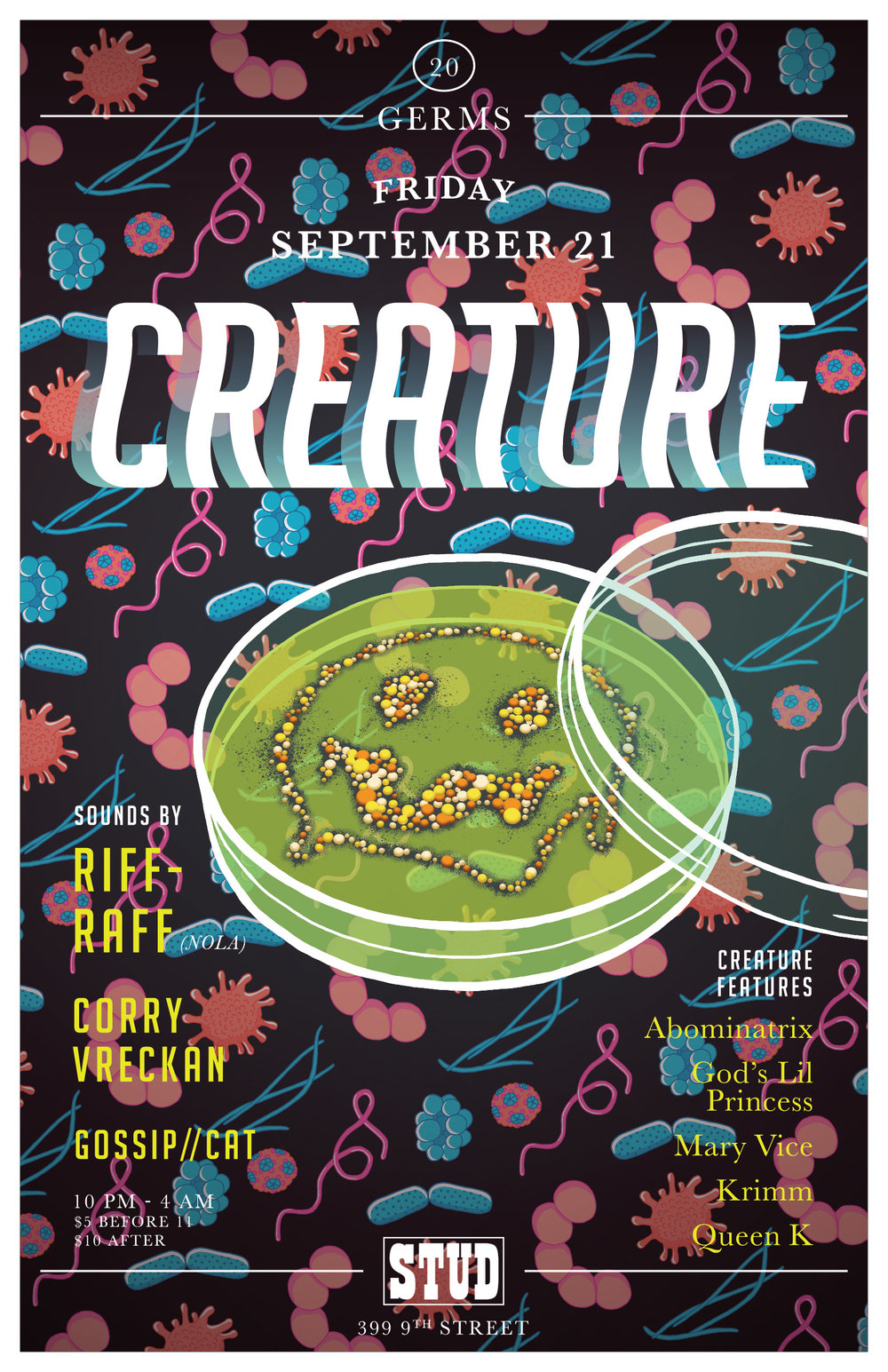 Creature: Germs