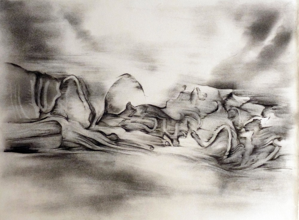 GSD, Study 4, Driftwood, Clouds, Light