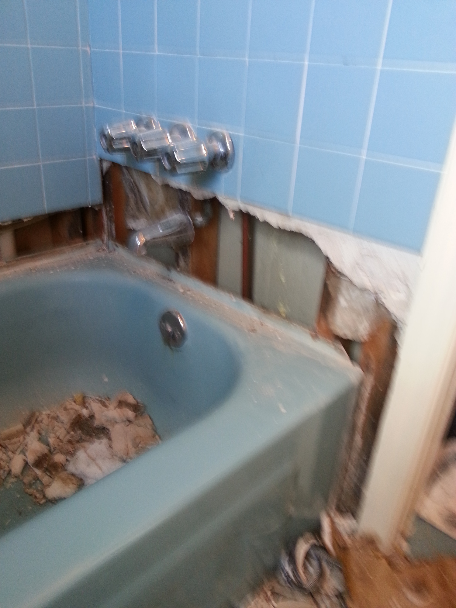 Water damage rebuild — The Grout Restoration Company 502-561-0911 ...