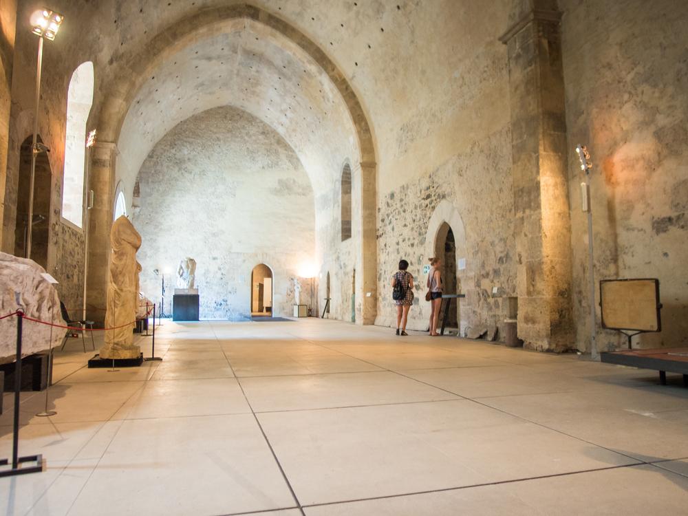 inside the halls