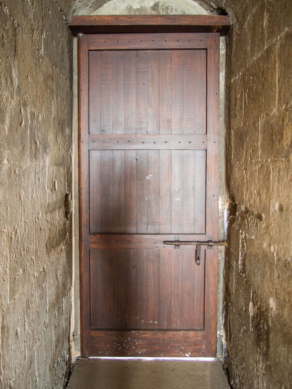 a cool wooden door