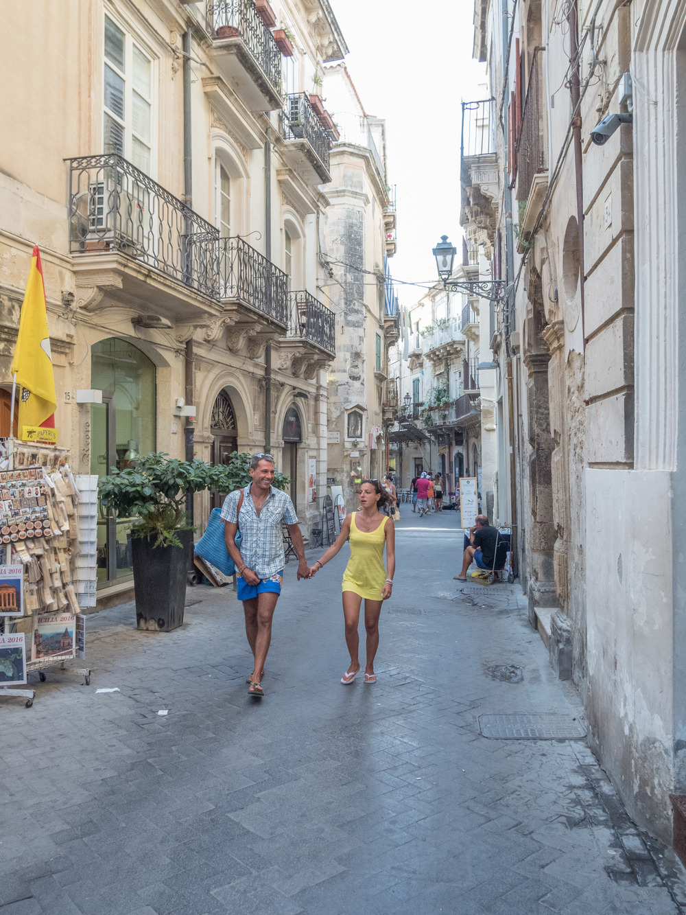 It is difficult to beat Siracusa as for places to visit in Sicily to enjoy. Ortigia will not disappoint so lng as you enjoy it for what it really is.