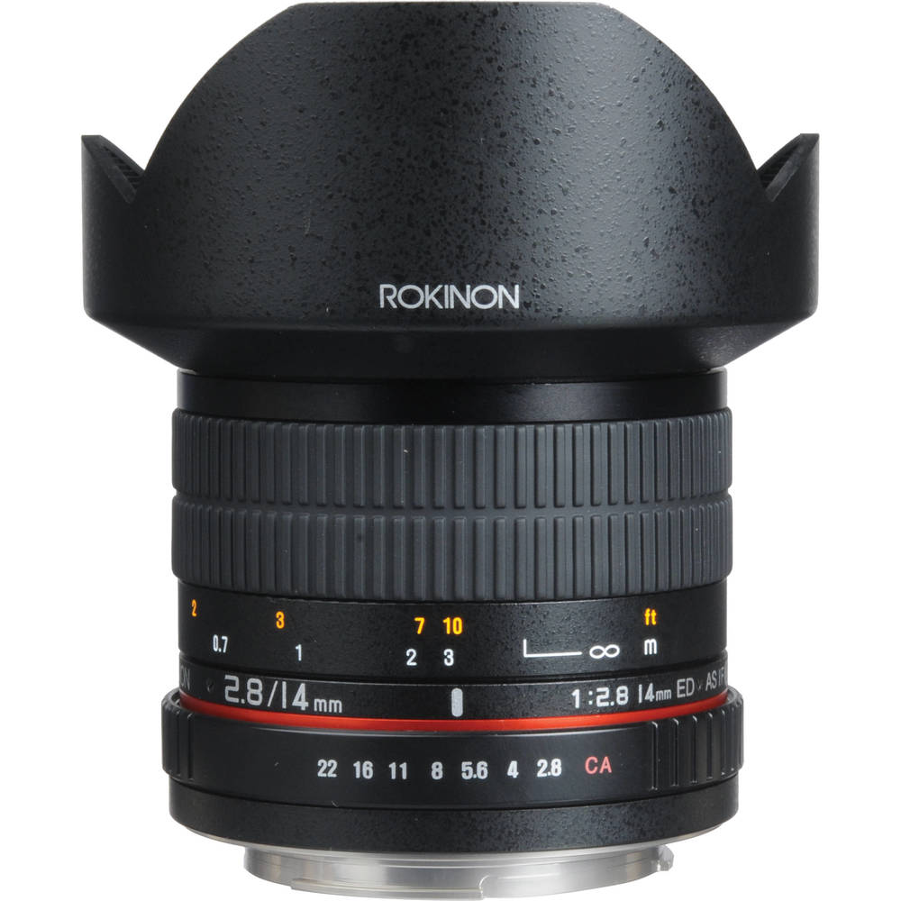 Lens profile example from B&H.