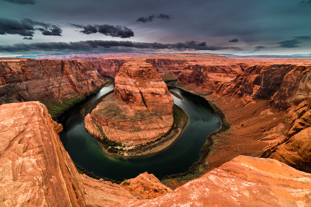 Dark Horseshoe Bend
