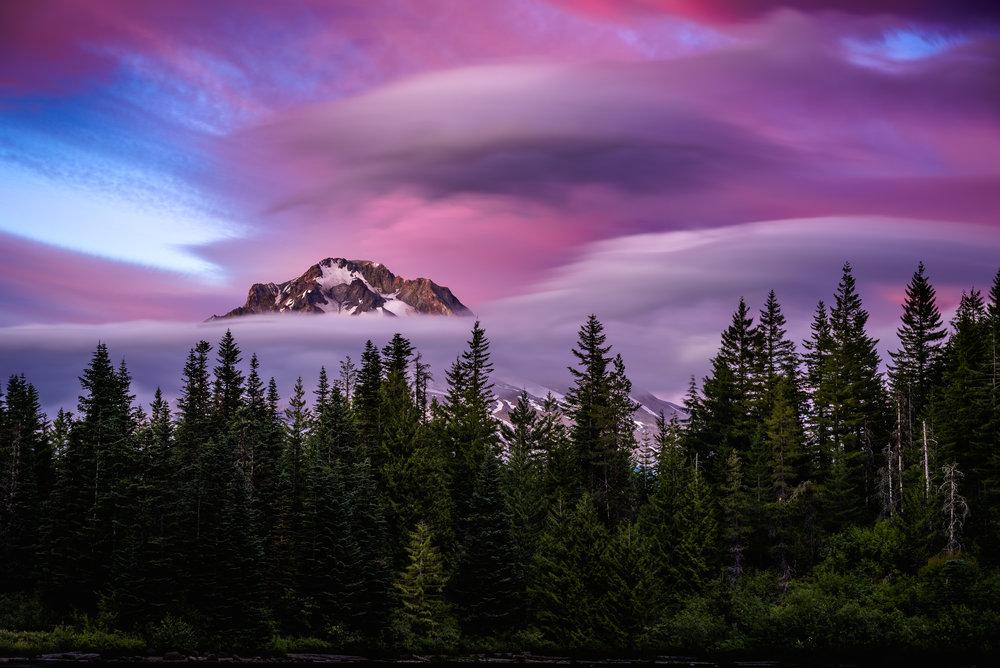 Mt Hood Cloaked