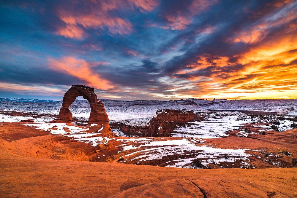 Desert Winter Wonderland