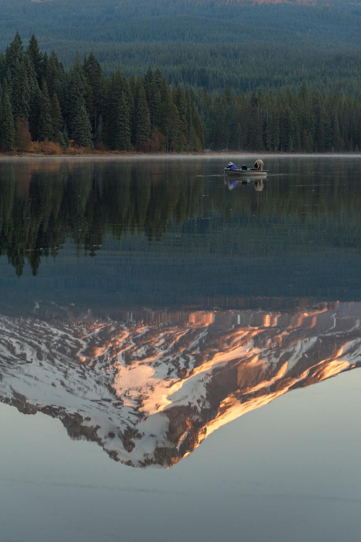 fishing trillium lake