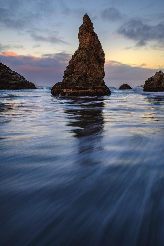 bandon oregon coast sea stack
