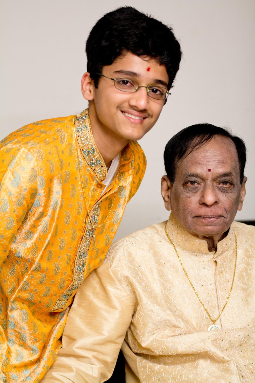 With 'Padma Vibhushan' Awardee Dr. M. Balamuralikrishna - 2011