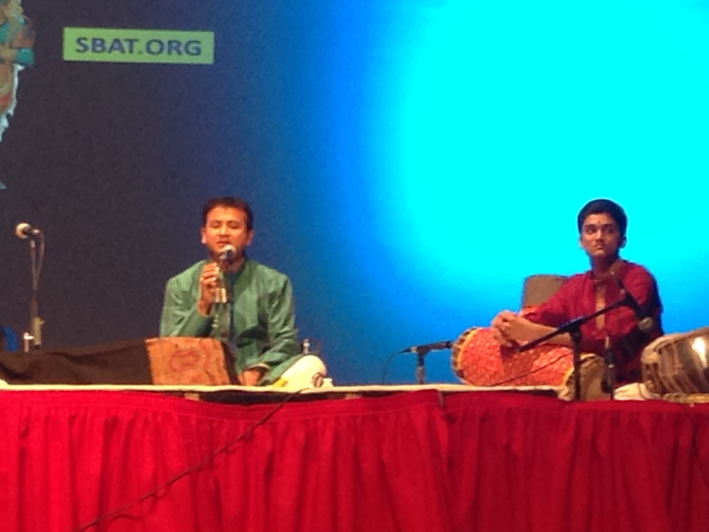 Live in concert, with Sri P. Unnikrishnan - 2014