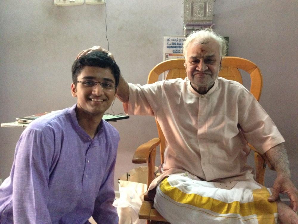 With ghatam maestro Sri Vikku Vinayakram - 2014