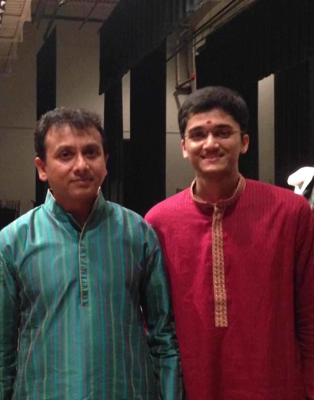 With Sri P. Unnikrishnan - 2014