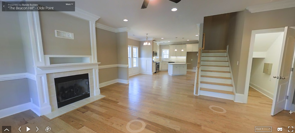 This tour is of a similar build featuring a bonus room. 532 Montgomery Loop will not have a bonus room.