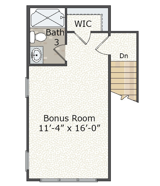 2nd Floor Bonus Room