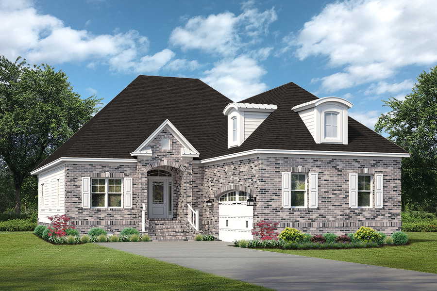New house rendering Ocean Ridge Plantation