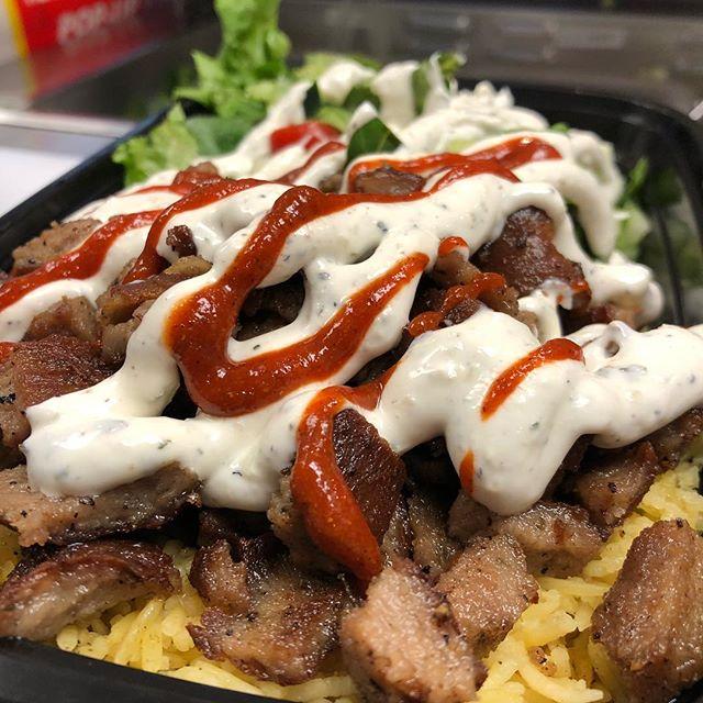 The Yummy Hella Halal Platter