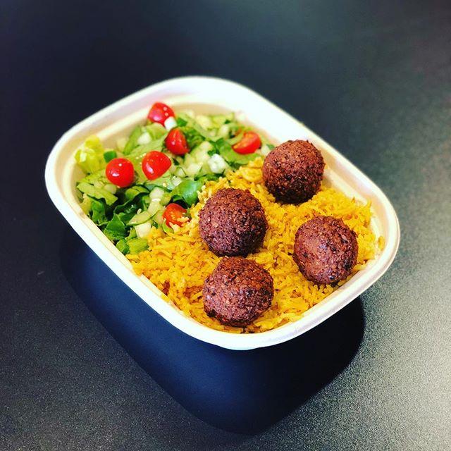 Falafel Platter #hellahalal #dalycity #westlake #halal #falafel