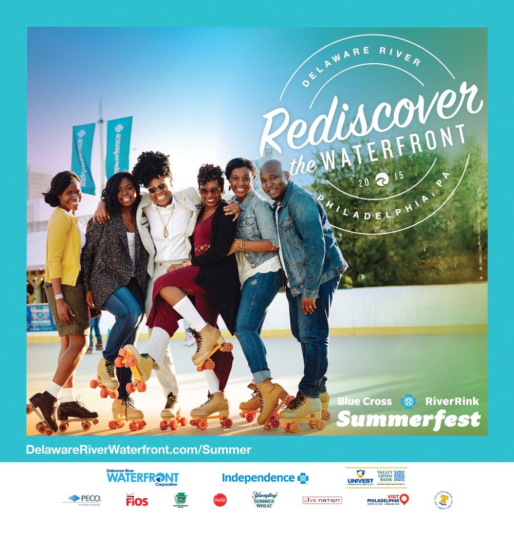 Summer Campaign for Delaware River front