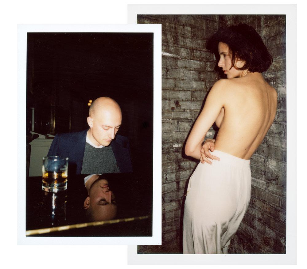 Lovers on Polaroid  2014